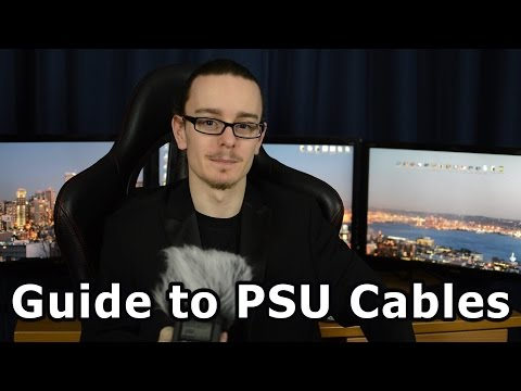 Guide to PC Power Supply (PSU) Cables