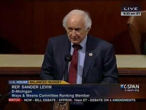 Ranking Member Sander Levin Floor Statement on GOP Plan D Act