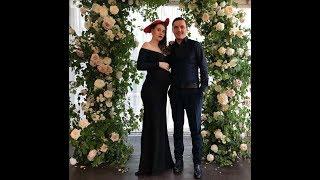 Беременная Александра Артемова на свадьбе Андрея Черкасова  ))
