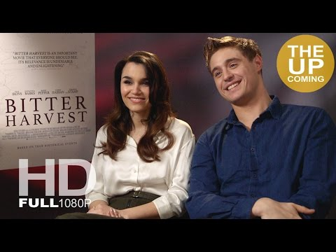 Bitter Sweet: Max Irons and Samantha Barks interview on the Ukrainian 1930s genocide