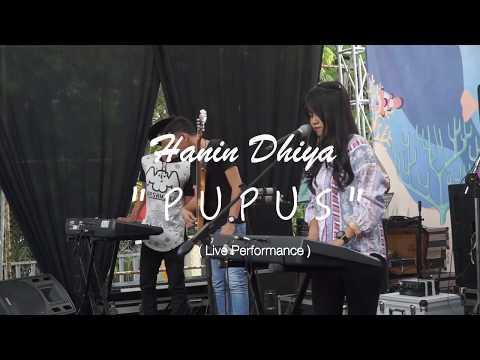 Hanin Dhiya - PUPUS ( Live Performance )