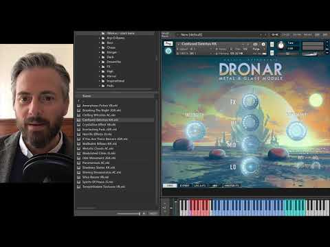 Gothic Instruments DRONAR Metal and Glass - Walkthrough with Dan Graham