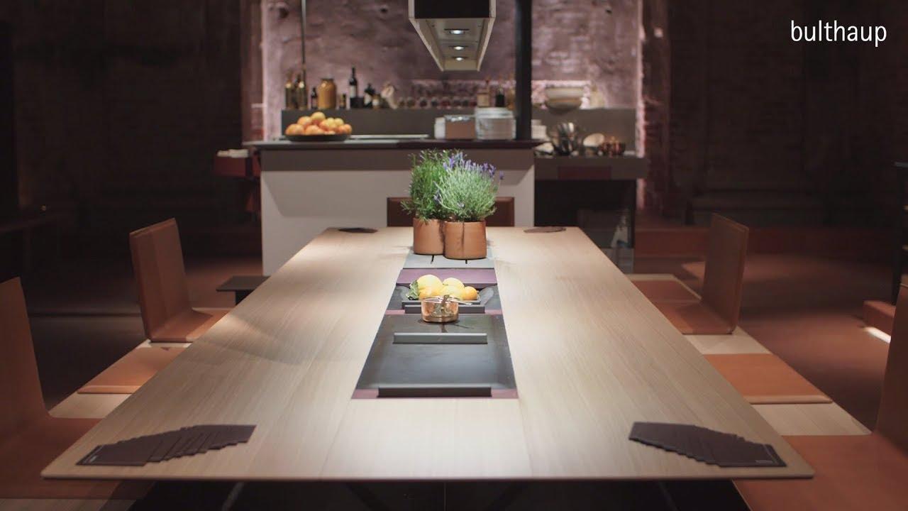 bulthaup gibt Küche eine neue Dimension - Mailand 2018 - YouTube
