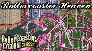 Rollercoaster Heaven | Rollercoaster Tycoon Classic | Wacky Worlds | Let's Play!