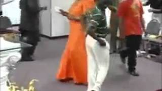 Man Dancing In Church During Offerings Remix
