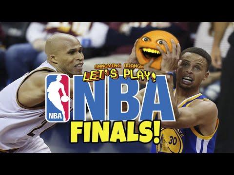Annoying Orange Plays - NBA Mobile Finals