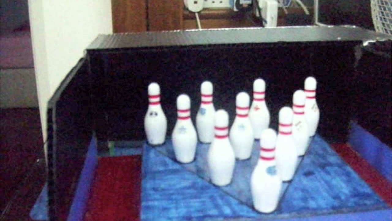Mini Home Bowling Alley Youtube