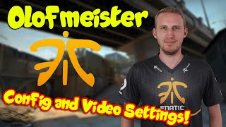 CS:GO Fnatic Olofmeister Config and Video Settings 2016 •