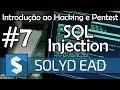 Aula 7 - Explorando SQL Injection e Bypass Cloudflare - Introdução ao Hacking e Pentest - Solyd