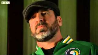 Eric Cantona  --     BBC Interview & Kung Fu Kick
