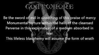 Goatwhore- Forever Consumed Oblivion- Lyrics