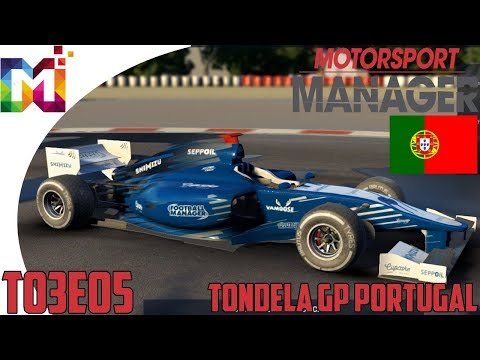 MotorSport Manager T03E05 - Tondela GP Portugal (Gameplay)
