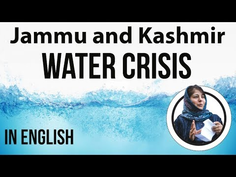 Water Crisis in Jammu & Kashmir - Impact of Global climate change on Indian agro economy - English
