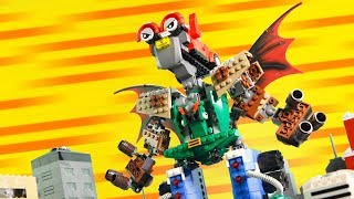 How to Build LEGO Giant Mech Robot | Magic Picnic LEGO Animation Vehicles (Part 5 of 5)