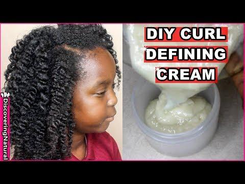 DIY Curl Defining Cream | Discovering Natural