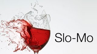 Wine Glass Meets iPhone 5s Slo-Mo Test - Slow Motion Camera Demo