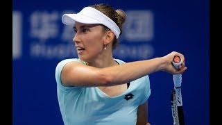 Elise Mertens vs. Maria Sakkari | 2019 Zhuhai Round Robin | WTA Highlights