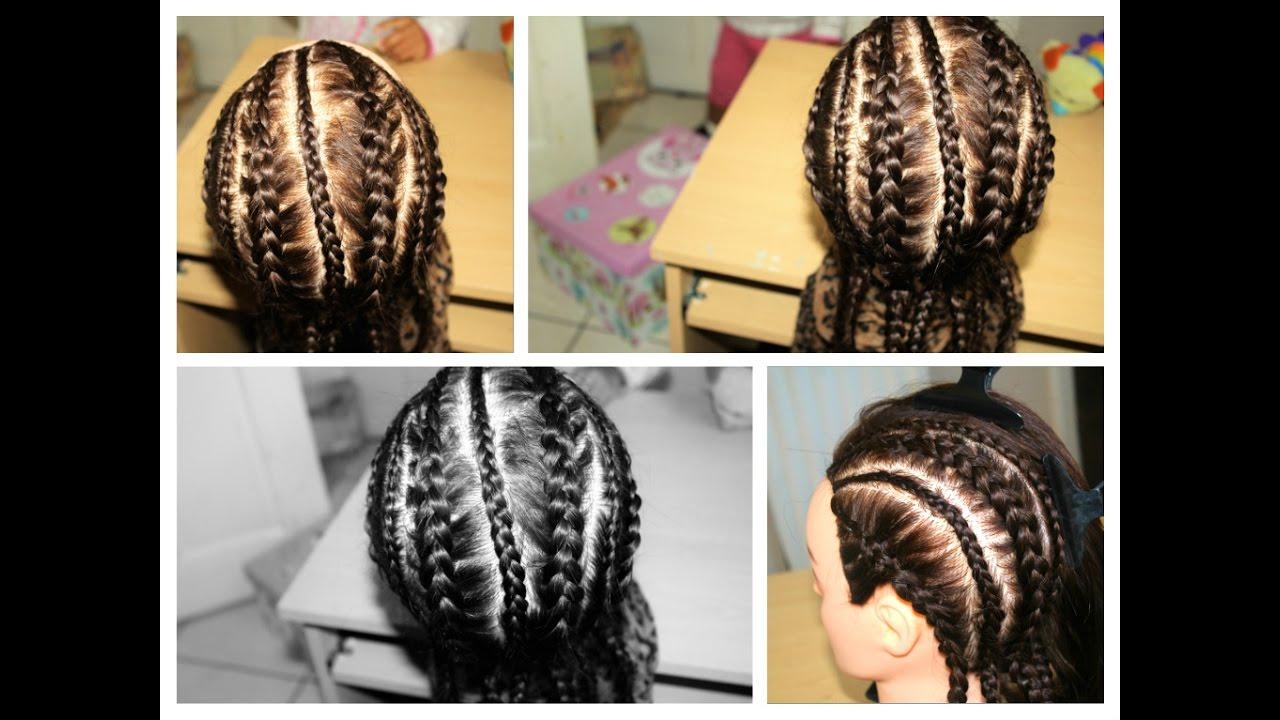 Hairbasic scalp braids cornrows youtube ccuart Choice Image