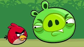 Angry Birds Kick Piggies - KICKING GAME OF PIG AND STELLA FULL LEVELS!