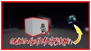 I GAVE AWAY MY HEX SKIN?! | ROBLOX Parkour