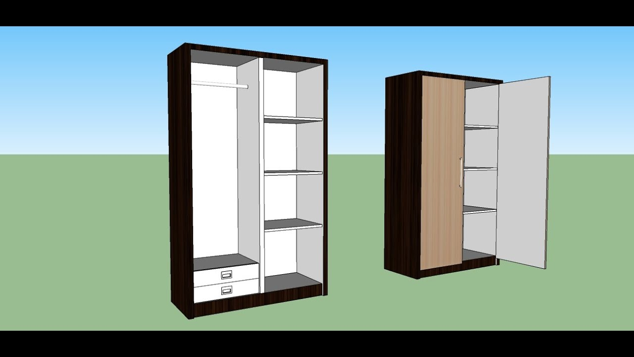 Sketchup Make A Cabinet