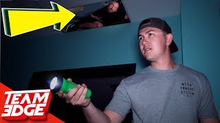 Download Midnight Hide and Seek in a Spooky Warehouse! | Hiding in the Ceiling!! Mp3 and Videos