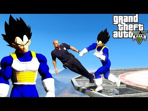 GTA 5: Hardest Knockouts - Vegeta Edition (K.Os) #13 (Best Punches, Dragon Ball Z, Vines, Tyga)