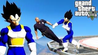 GTA 5: Hardest Knockouts - Vegeta Edition (K.Os) #13 (Best Punches, Dragon Ball Z, Vines, Tyga)