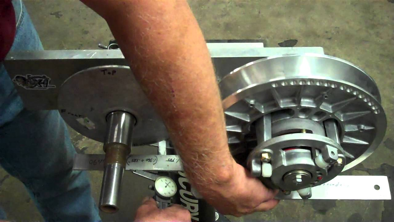 Arctic Cat clutch alignment procedure