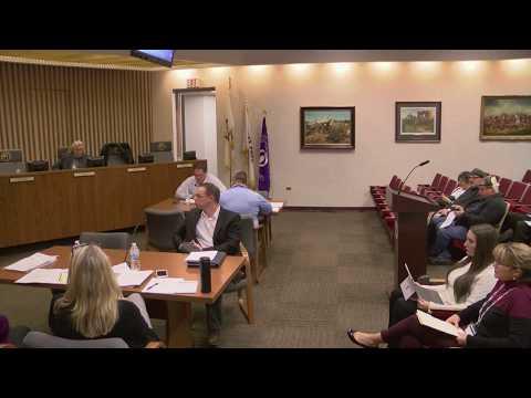 Committee Meetings (October 24, 2017)