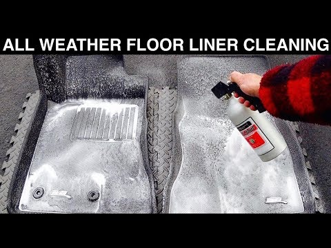 All Weather Floor Liner Cleaning | Auto Fanatic