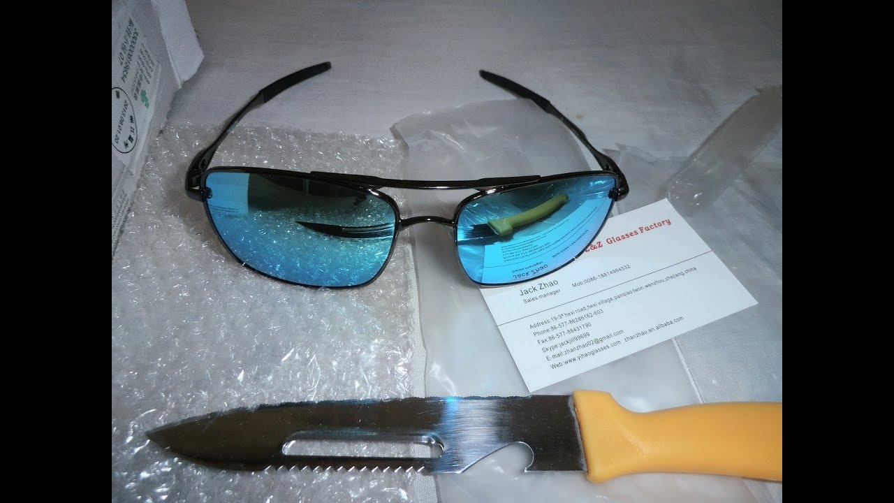 oakley glass aliexpress  [#37] unboxing aliexpress oakley deviation