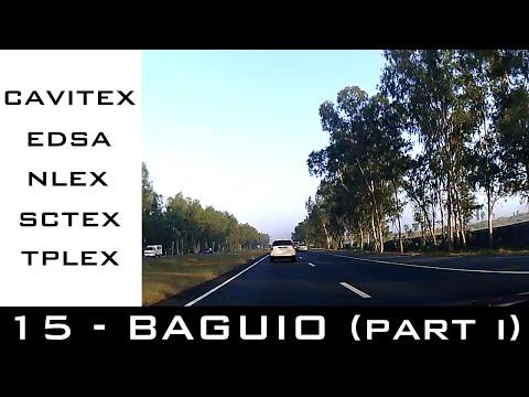 Road Trip #15 - Lezzgo Baguio!!! Part 1 (Cavitex, EDSA, NLEX, SCTEX, TPLEX)