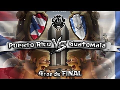 ¡PUERTO RICO vs GUATEMALA EN DIRECTO! | 4tos de FINAL | LATIN CLASH LEAGUE