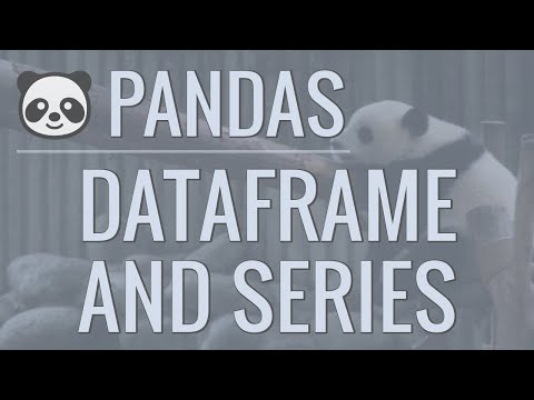 python-pandas-tutorial-(part-2):-dataframe-and-series-basics---selecting-rows-and-columns