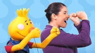 More Rock Scissors Paper   Learn Kids Songs   Sing Along With Tobee