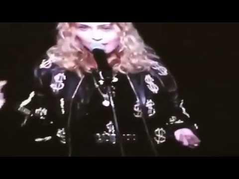 Vote Hillary, love Madonna