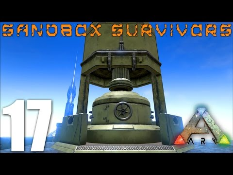 ARK: Survival Evolved - INDUSTRIAL FORGE AND BULLET CRAFTING! - S1EP17 Gameplay