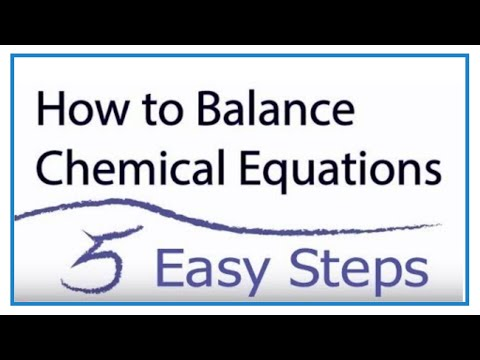 How to Balance Chemical Equations in 5 Easy Steps: Balancing Equations Tutorial