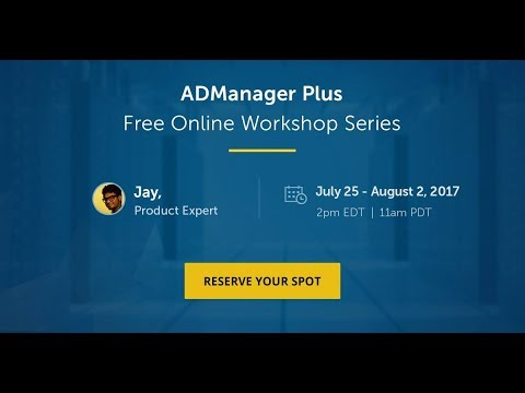 [Workshop - Day 3] Script-free Active Directory reporting and File Server permission management
