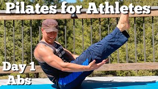10 min Pilates for Athletes Killer Core Workout for Men and Women with Sean Vigue Fitness