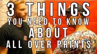 Interested in getting learning more about all over printing for you...