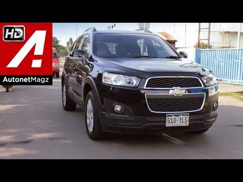Test drive Chevrolet Captiva 2.0 Diesel (Part 2/2)