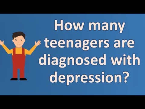 How Many Teenagers Are Diagnosed With Depression ? |Top Answers About Health