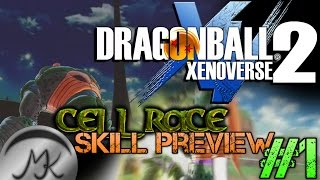 DRAGON BALL XENOVERSE 2 MODDING - Bio-Android A.K.A Cell Race - Full Power & Zetsumei Bullet