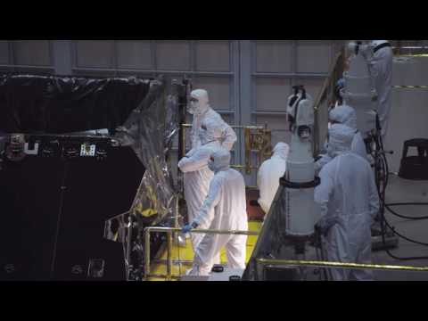 Video Snapshot: Installation of James Webb Space Telescope
