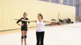 RU | Видео урок 12. Предметный урок с булавами  / Демо - ролик