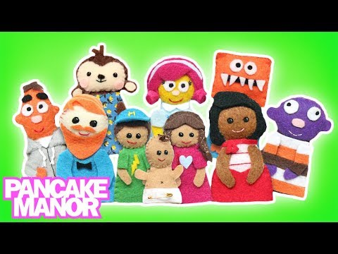 Finger Family Song  Collection | Songs for Kids | Animals, Baby Shark + More| Pancake Manor