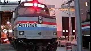 Amtrak Boston Southampton St. Yard Tour in 2001