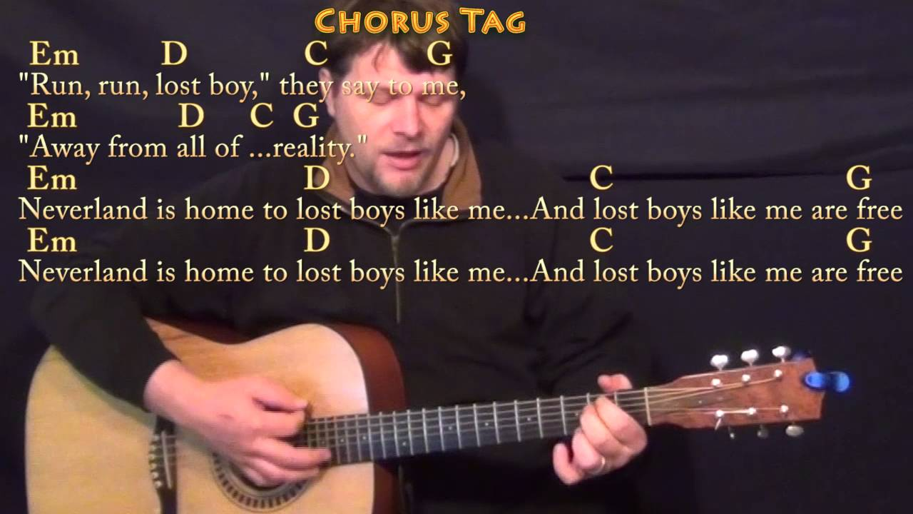 Lost Boy Ruth B Guitar Cover Lesson With Chordslyrics Youtube